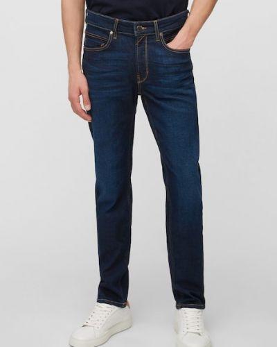 Niebieskie mom jeans bawełniane Marc O Polo