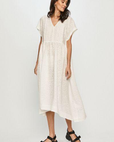 Sukienka midi rozkloszowana na co dzień z wiskozy Levi's