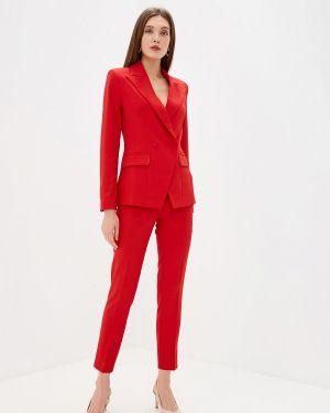 Брючный костюм красный Self Made