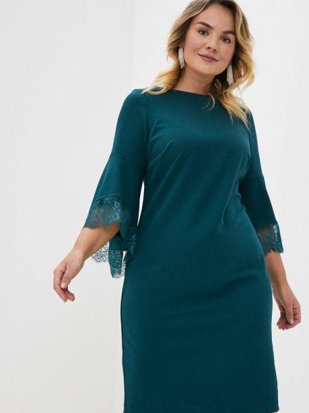 Вечернее платье зеленый весеннее Forus