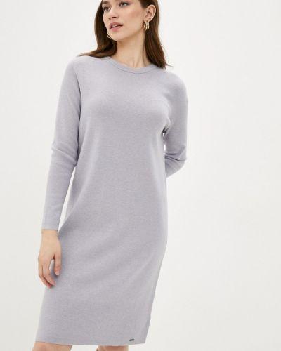 Прямое серое свободное платье Finn Flare