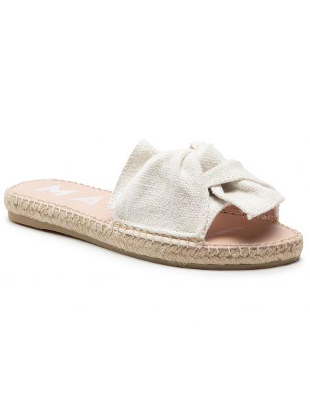 Białe sandały casual Manebi