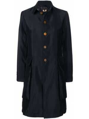 Черный пальто классическое с воротником на пуговицах Comme Des Garçons Comme Des Garçons