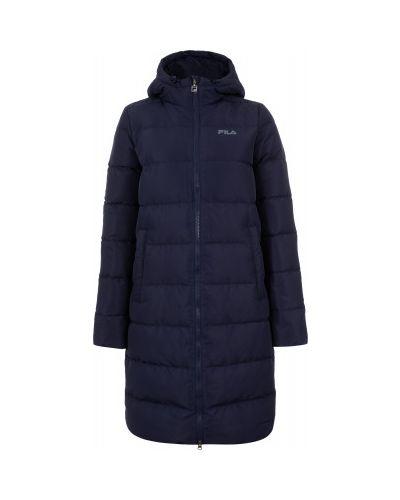 Зимняя куртка утепленная с капюшоном Fila