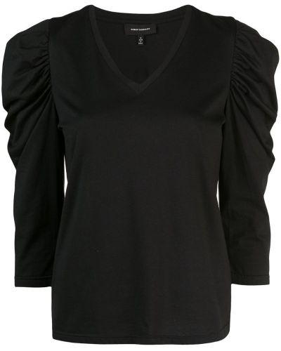 Футбольная черная футболка с оборками Robert Rodriguez Studio