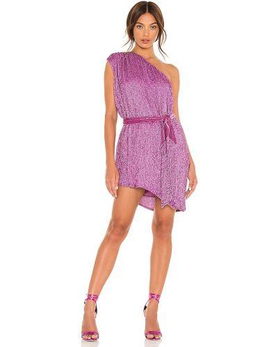 Бархатное платье - фиолетовое Retrofete