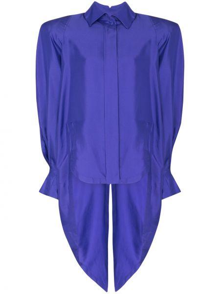 Фиолетовая блузка винтажная Montana
