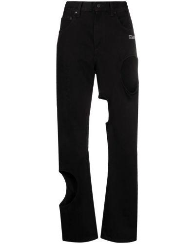 Czarne jeansy bawełniane Off-white