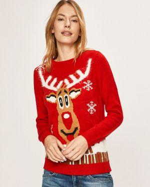 Sweter z wzorem akrylowy Vero Moda