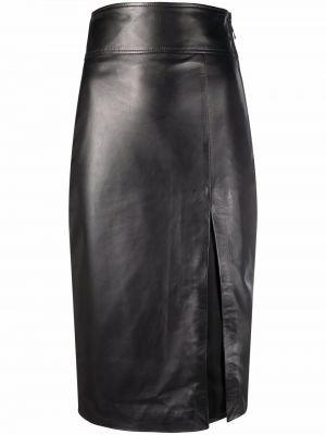 Черная юбка карандаш Manokhi