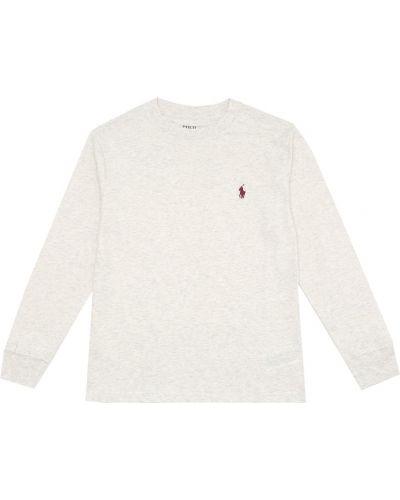 Szary bawełna bawełna koszula Polo Ralph Lauren Kids