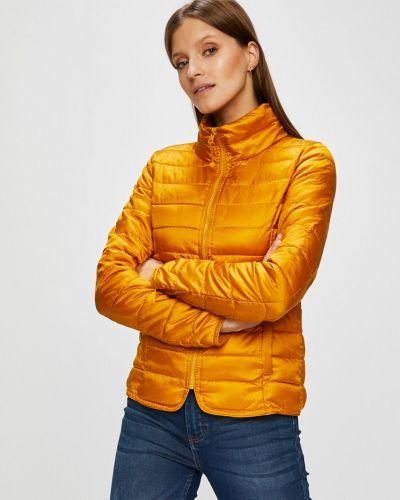 Стеганая куртка утепленная укороченная прямая Only
