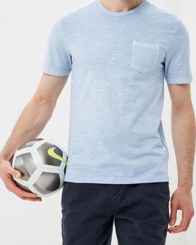 Голубая футболка Celio