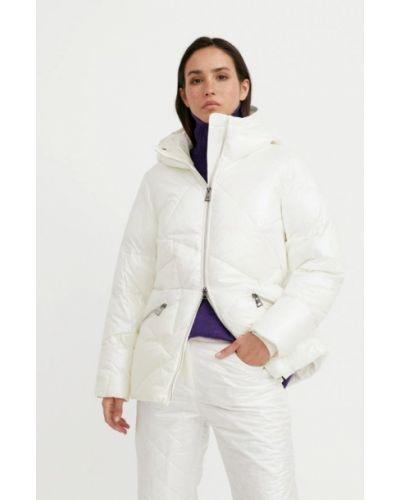 Свободная утепленная белая куртка Finn Flare