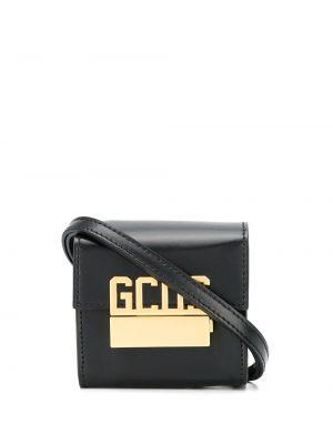 Кожаная сумка - черная Gcds