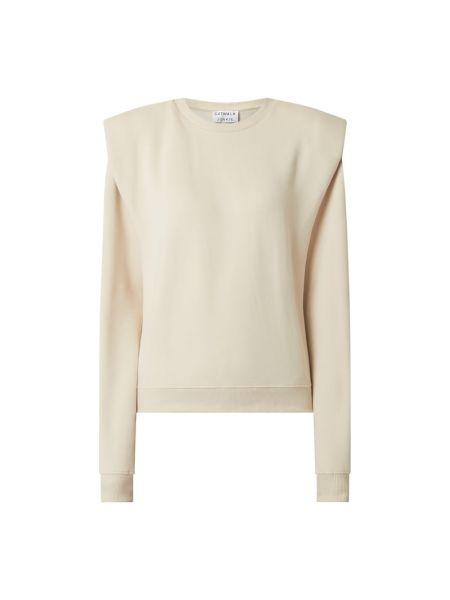 Beżowa bluza bawełniana Catwalk Junkie