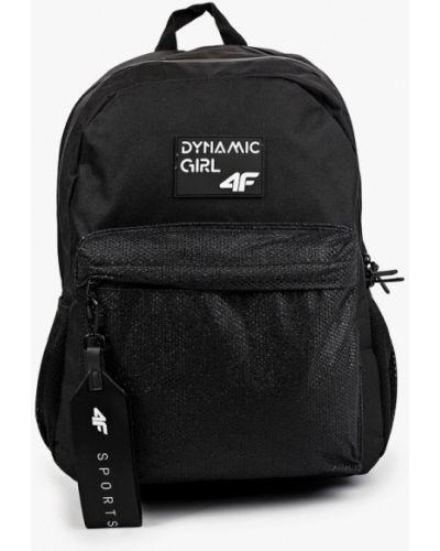Текстильный черный рюкзак 4f
