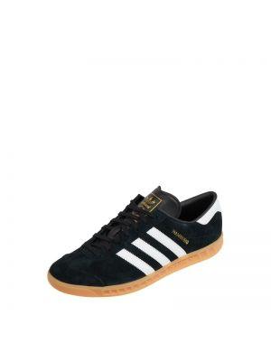 Czarne sneakersy skorzane Adidas Originals