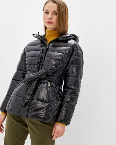 Черная утепленная куртка Tantra