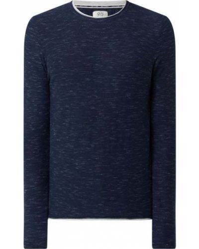 Sweter bawełniany - niebieski Q/s Designed By