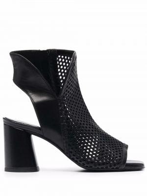 Кожаные сандалии - черные Cult