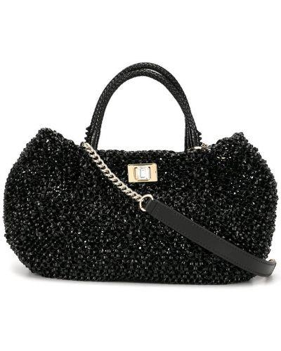 Черная сумка на плечо Anteprima