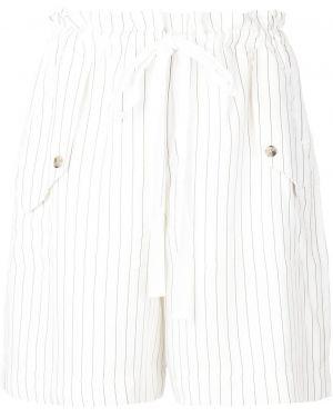 Белые шорты с карманами Jason Wu