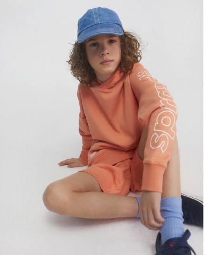 Pomarańczowa bluza Sprandi