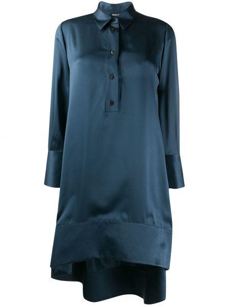 Облегающее платье на пуговицах трапеция Giorgio Armani