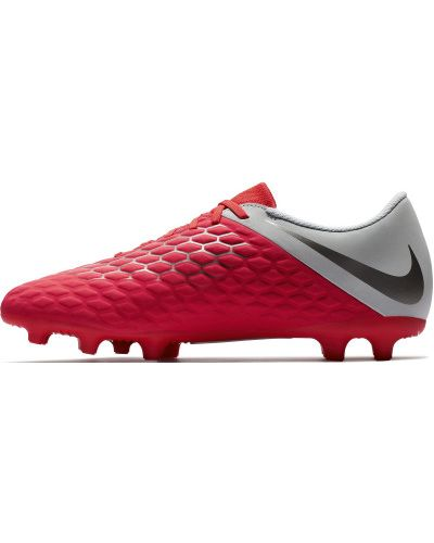 Красные бутсы футбольные Nike