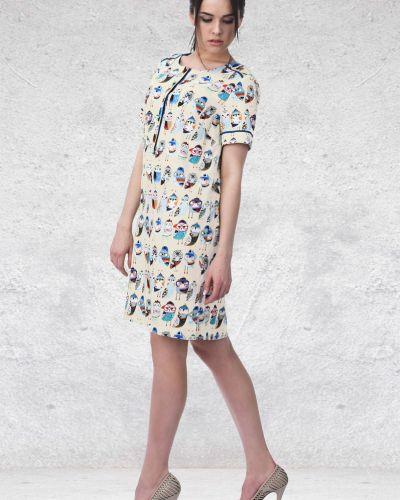 Платье миди на пуговицах из штапеля Mari-line