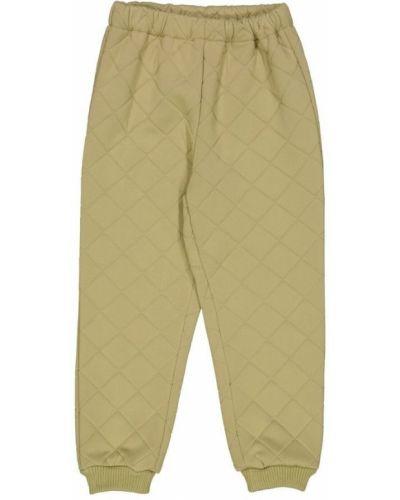 Beżowe spodnie khaki Wheat