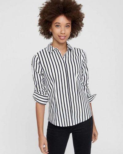 Белая рубашка с длинным рукавом Vero Moda