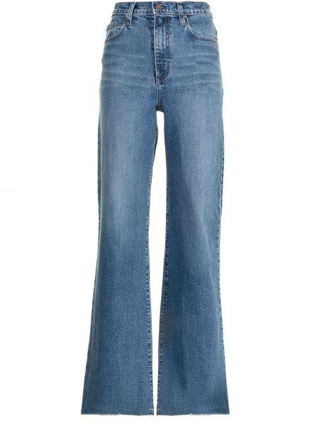 Синие с завышенной талией джинсы свободного кроя Nobody Denim