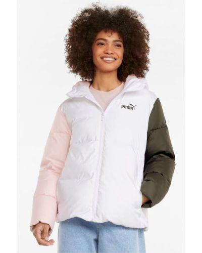 Пуховая куртка - белая Puma