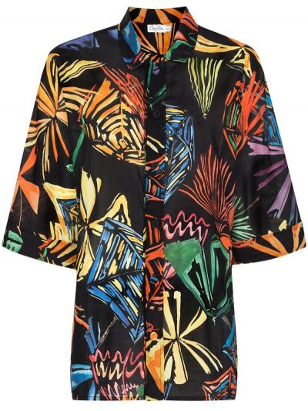 Czarna bluzka bawełniana Charo Ruiz Ibiza