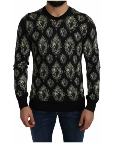 Czarny sweter Dolce And Gabbana