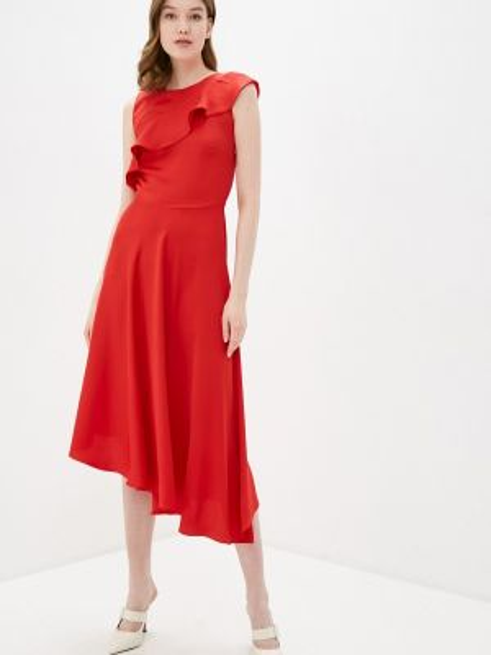 Красное платье Adl