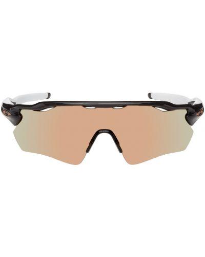 Okulary srebrne - białe Oakley