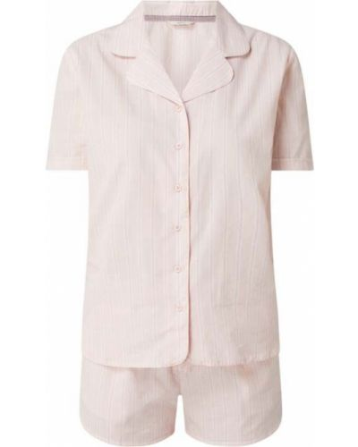 Piżama z wiskozy - różowa Esprit