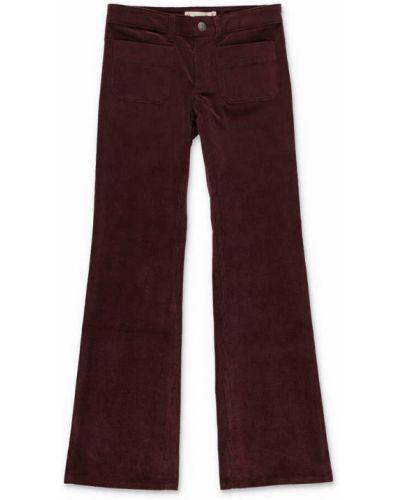 Czerwone spodnie Bonpoint