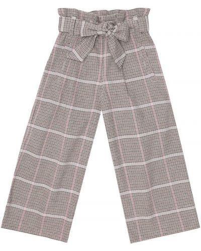 Bawełna bawełna biały spodnie rozciągać Brunello Cucinelli Kids