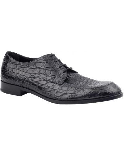 Черные туфли Ermenegildo Zegna
