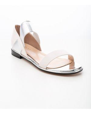 Белые кожаные туфли из искусственной кожи Sidestep