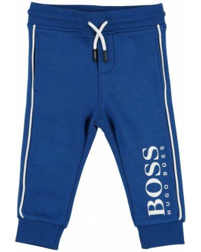 Joggery - niebieskie Hugo Boss
