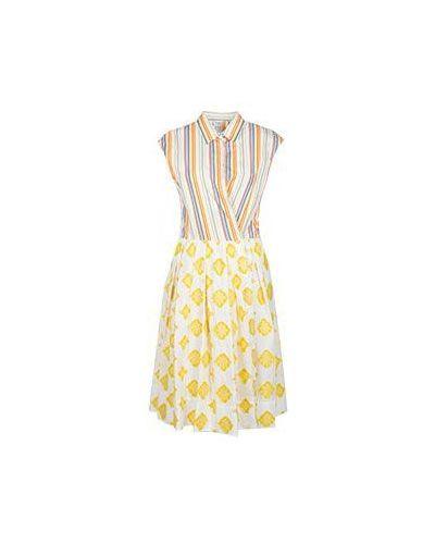Платье с вышивкой платье-рубашка Sara Roka