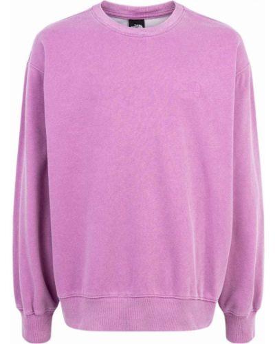 Różowa bluza z haftem Supreme