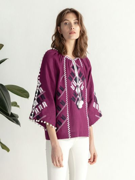 Повседневная блузка Etnodim