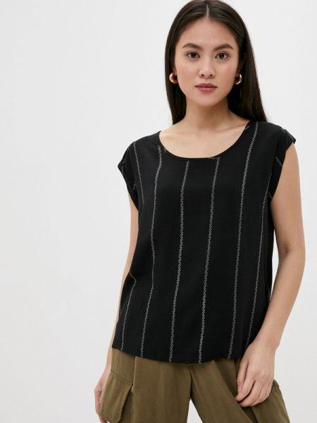Черная блузка с коротким рукавом Fresh Made