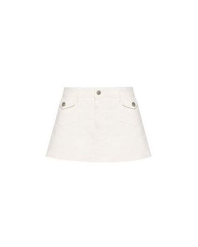 Белые шорты Valentino Red